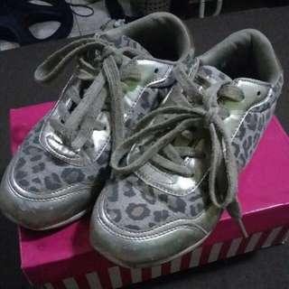 Sugar Kids Leopard print rubber shoes