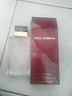 Minyak wangi / parfume dolce & gabannna