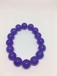 全新紫珠手鏈