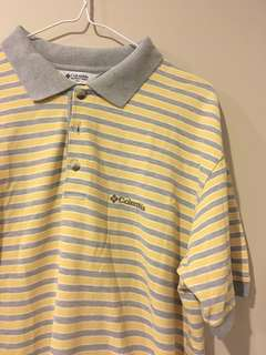 mens columbia collared top