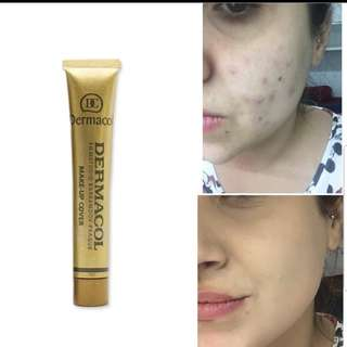 Dermacol Foundation full coverage tattoo cover concealer scars