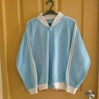 Light blue/white jacket