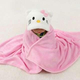 Hello kitty Baby Bath towel with hood