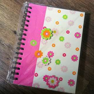 AUSSINO Flowers NoteBook