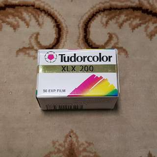 Tudorcolor XLX 200 Expired Film 135 Film Format 35mm film