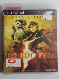 Ps3 Resident Evil 5 Gold Edition Game