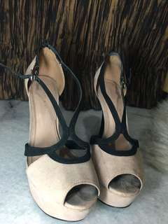 Charles and keith heels size 37