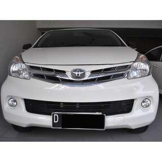 Toyota New Avanza 1.3 G AT 2012  Warna White   Sahabat Impian Keluarga