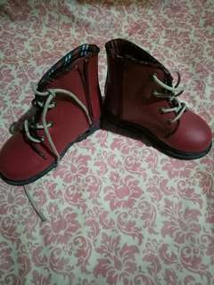 [PRELOVED] [NO NEGO] Maroon Boots
