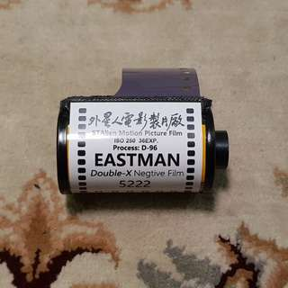 35mm Kodak Eastman Double-X 250 Black and White Motion Picture Film ( 5222 Production Series )