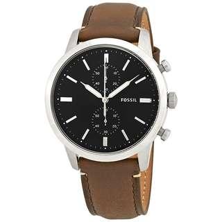 ⭐️⭐️⭐️$1050 🎉 。 店 主 推 介 。 🎉 🔴Fossil 男裝皮錶