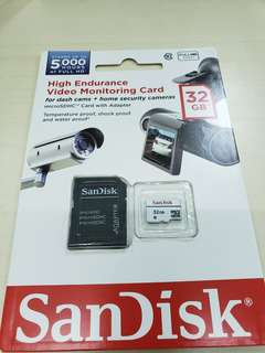 Sandisk 32GB micro sdcard SDSDQQ32