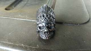 Indiana Skull Ring