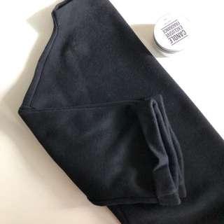 Black half sleeves top