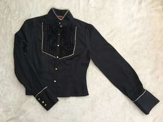Cowgirl Style Blouse for Women (Size S)