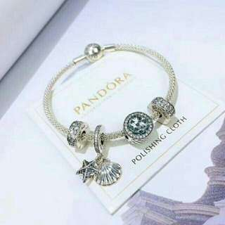 Pandora bracelet with charms FREE SHIPPING!