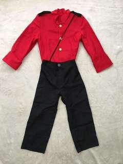 Canadian Mountie Costume for boys (6-7yo)