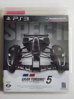 Ps3 Gran Turismo 5 Spec II Game