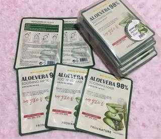 Aloevera 98% soothing mask