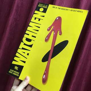 Watchmen DC Universe Comic Graphic Novel Book