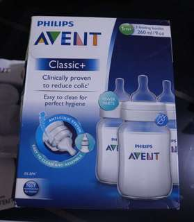 Avent classic bottle pack of 3