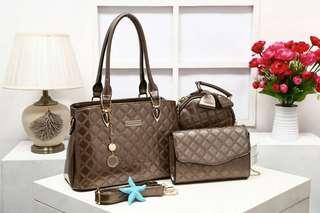 Handbag Charles & Keith # 65087 : SET 3 IN 1