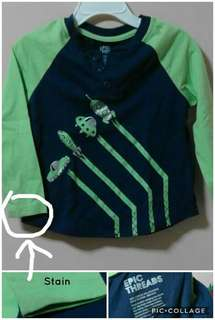 Boy's Top Terno ALL ITEMS P100.00