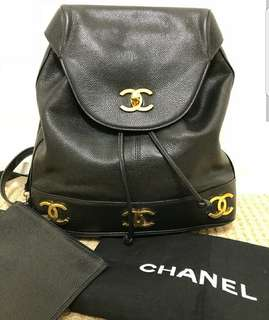 Chanel caviar Backpack