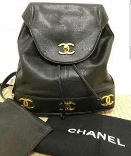 Chanel caviar Backpack