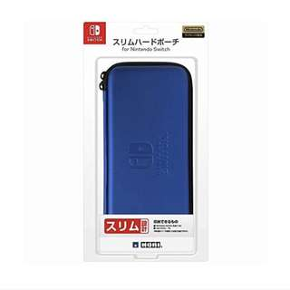 HORI Nintendo Switch : Slim Hard Pouch Blue