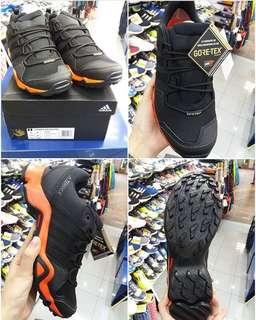 有門市~ADIDAS TERREX AX2R GTX SHOES ! 防水功能戶外鞋 行山鞋 #CP9680 SIZE: UK7–UK9.5