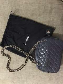 Authentic Chanel Camera Shoulder Tote Bag (Vintage)