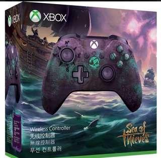 Xbox One Sea of Thieves 盜賊之海 夜光特別版無線 手掣 手制 Controller    行货  有保養