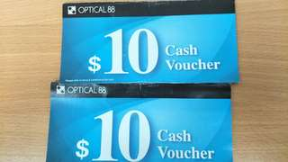 Optical 88 cash voucher