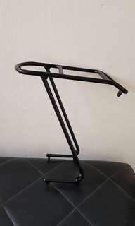 Bicycle rack front and back