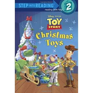 (Brand New) Christmas Toys (Disney/Pixar Toy Story) (Step Into Reading - Level 2)    By: Jennifer Liberts Weinberg, Random House Disney (Illustrator)  For Age 4 to 6    Lexile code 460L