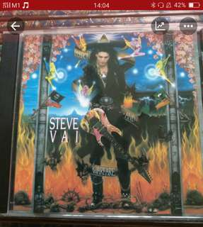 CD - STEVE VAI - PASSION AND WARFARE