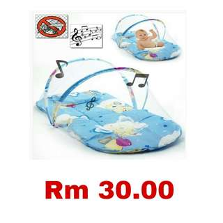 Baby Cradle Bed with Music