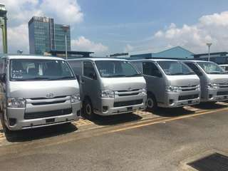 Nv200 Hiace Nv350 for rent ! Ready stock !