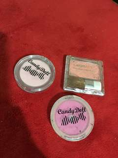 TAKE ALL Candy Doll & Canmake Powder Bluses