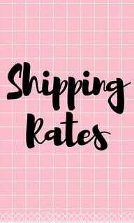 SHIPPING FEES 🌷