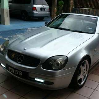 Mercedes Benz SLK230 Compressor