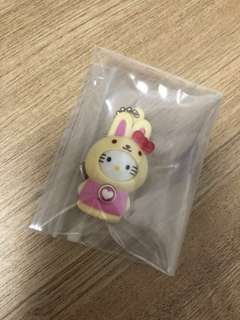 Hello Kitty (press button to change kitty's face expression)