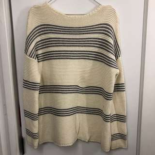 Skin and threads Kate Waterhouse cream sweater size 0 new