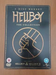 Hellboy movie collection DVD Steelbook Collectible