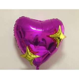 Emoji Heart 💖 Balloon
