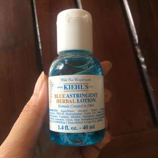 Kiehls Blue Astringent Herbal Lotion 40ml