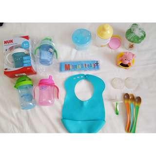 Toddler Feeding accessories (bottles, cups, formula dispenser etc)
