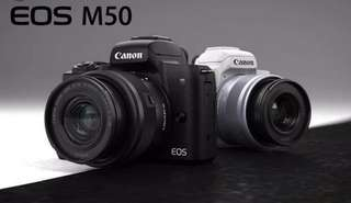 Canon EOS m50 (15-45mm) kit