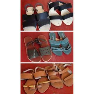 TAKE ALL!!! 6 SANDALS FOR 600 PESOS ONLY! ❤